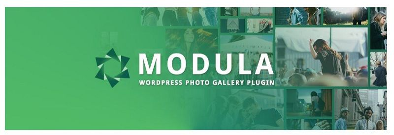 galería de imágenes en WordPress: Modula