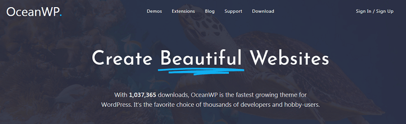 plantillas para wordpress gratis oceanwp